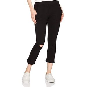 NEW n:Philanthropy Malibu Knee Slit Cropped Sweats